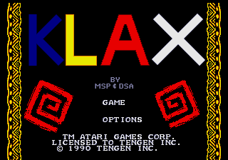 Klax MD00