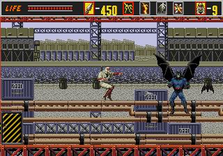 The Super Shinobi 6 Boss 2