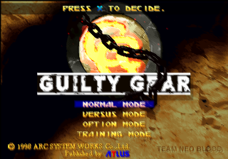 Guilty Gear 00