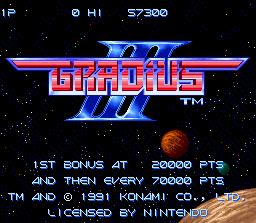 Gradius III 00