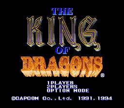 King Of Dragons 00