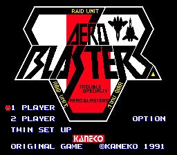 Aero Blasters 00