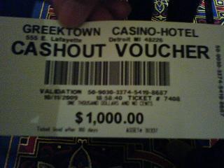 Ticket $1000