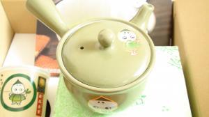 こいまろ茶セットの急須当選!