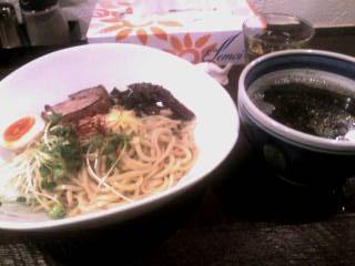 チョコつけ麺2