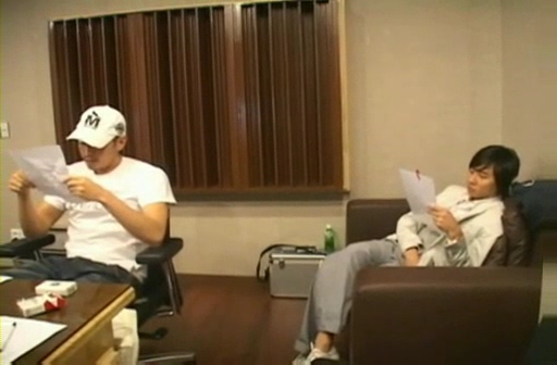090212 Eric at Recording studio for Yes! [TOP starzone].flv_000031933
