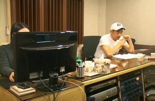 090212 Eric at Recording studio for Yes! [TOP starzone].flv_000042266