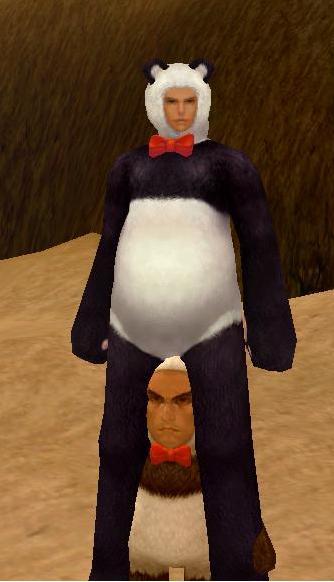 パンダ?!