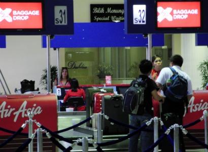 LCCターミナル荷物預けカウンター