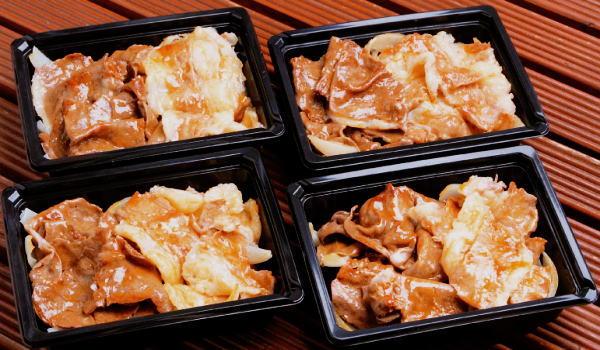 上村和牛 贅沢牛丼セット