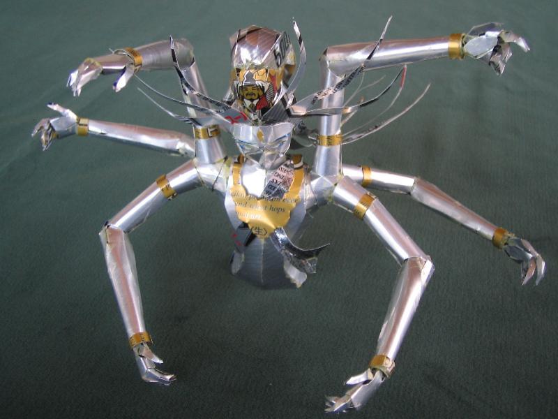 仏像風人形2s