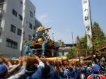 富岡八幡宮例大祭 富岡八幡宮門前にて(2005/8/14)