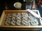 越後の地酒と日本海の魚 へぎそば こんごう庵 へぎそば1.5人前