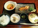 一ツ橋 御燗 焼魚定食(銀だらの照り焼き)