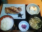 神保町 割鮮 つきじ満 焼魚定食(あこう鯛)