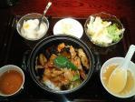 神保町 三幸園(すずらん通り店) なすと豚肉・ピーマンのニンカラ炒めのせご飯