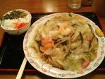 神保町 神田さんくす 居酒屋 九州 皿うどんセット