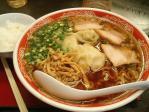 水道橋 尾道ラーメン麺一筋 肉ワンタン麺