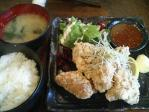 神保町 創作和風バー 武蔵 鶏唐揚定食
