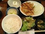 神保町 芋焼酎 黒豚 幻蔵 豚生姜焼き定食