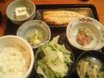 神保町 芋焼酎 黒豚 幻蔵 本日の魚定食(サバ塩)