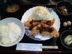 神保町 赤かぶ ふらい家 鮭フライ定食