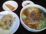 神保町 正香園 B1セット(牛肉麺+半チャーハン)
