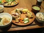神保町 マザーズ・オーガニックレストラン 富士山のやさい塾 ランチビュッフェ