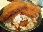 神保町 新潟カツ丼 タレカツ 二段もりカツ丼 ご飯大盛り