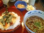 神保町 越後の地酒と日本海の魚 へぎそば こんごう庵 海鮮とろろ定食