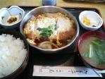 神保町 菊水 豚ロースかつ煮定食