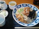 神田錦町 更科 冷やし納豆(大盛り)