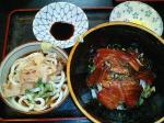 新町 弁天 鉄火丼(冷やしうどん付き)
