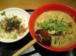 阿波座 四天王 四天王ラーメン+ミニチャー丼