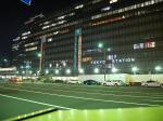 東京駅八重洲口駅ビルの夜景