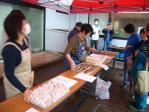 浦守神社祭典 地元料理試食(2009/3/20安良里)