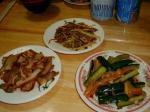 晩ご飯も四季牛肉麺。もう定番ですね(*^_^*)