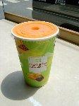 台北牛乳大王のパパイヤミルク