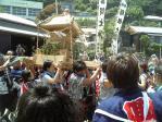 御蔵島 夏祭り、盛り上がってます!