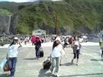 御蔵島を離れるのは残念です