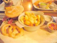 ステーキハンバーグ