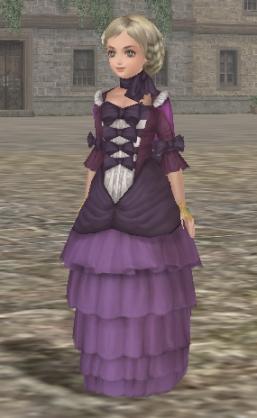 030611 紫色のドレス