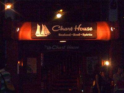 ハワイ レストラン チャートハウス