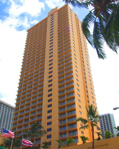 ハワイ パシフィックビーチホテル