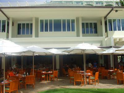 ハワイ レストラン プルメリアビーチハウス