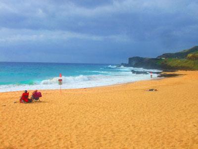 ハワイ サンディビーチ
