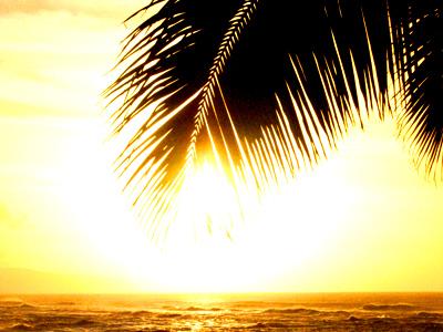 ハワイ サンセットビーチ