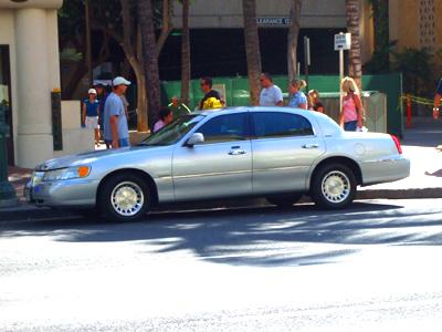 ハワイ タクシー