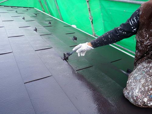 03 トタン屋根 上塗り
