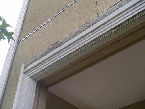 09 玄関廻り柱・梁 施工前
